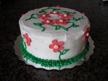 Spring Flower Theme Cake